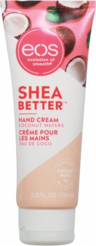 EOS Coconut & Shea Butter Hand Cream Perspective: front