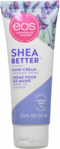 EOS Shea Better Lavender Hand Cream Perspective: front