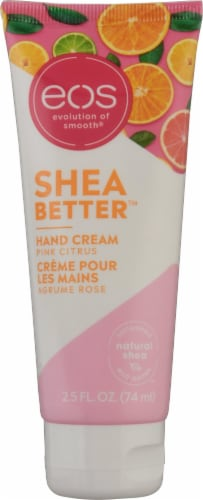 EOS Pink Citrus & Shea Butter Hand Cream Perspective: front