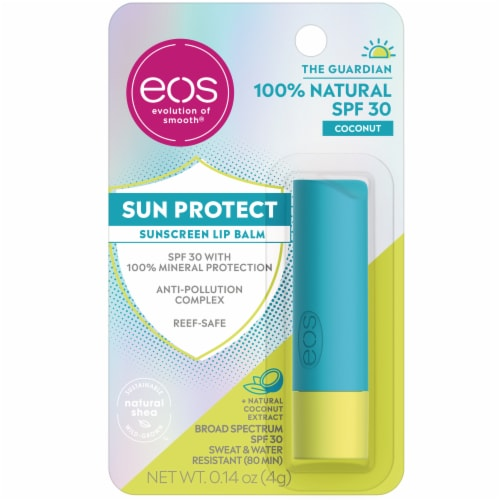 EOS Coconut Sun Protection Perspective: front