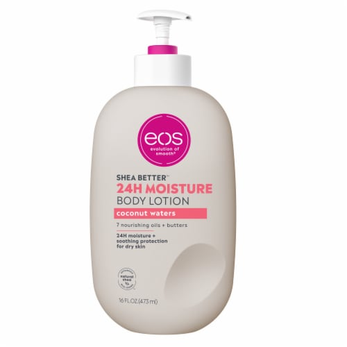 EOS Shea Better Coconut Waters Body Lotion Perspective: front