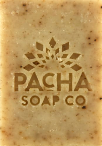 Pacha Soap Co. Dirty Hippie Bar Soap Perspective: front