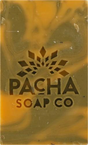 Pacha Soap Co. Spearmint Lemongrass Bar Soap Perspective: front
