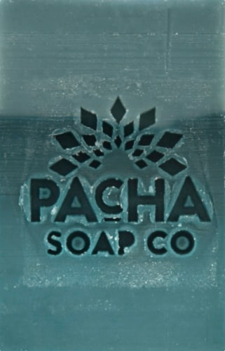 Pacha Soap Co. Sea Salt Kelp Bar Perspective: front