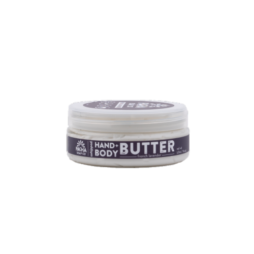 Pacha Soap Co French Lavender Hand & Body Butter Perspective: front