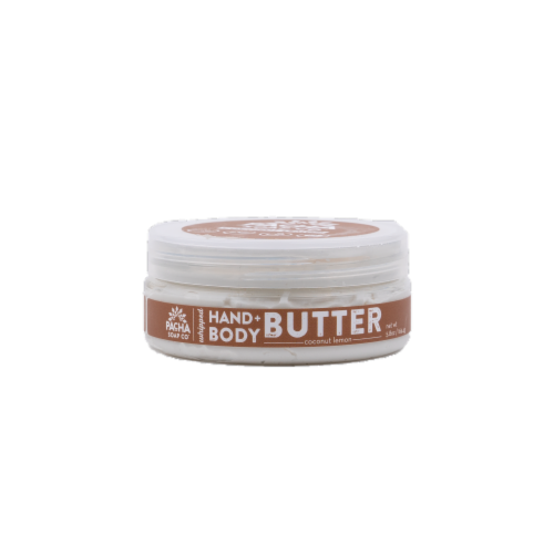 Pacha Soap Co Coconut Lemon Hand & Body Butter Perspective: front