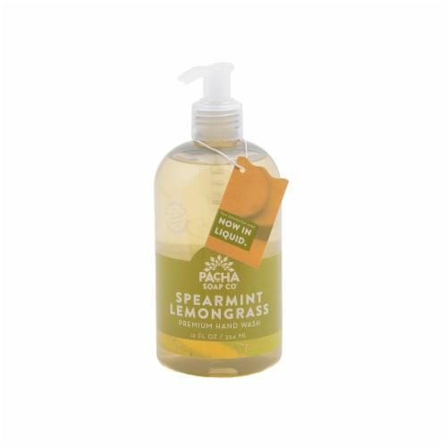 Pacha Soap Co. Spearmint Lemongrass Hand Wash Perspective: front