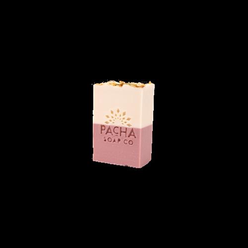 Pacha Soap Co Jasmine Gardenia Bar Soap Perspective: front