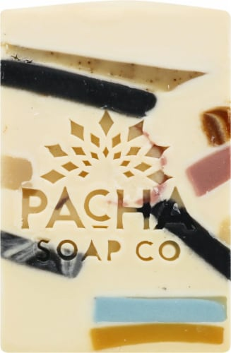 Pacha Soap Co. Pachafetti Bar Soap Perspective: front