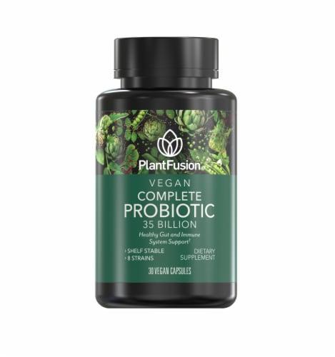 PlantFusion Vegan Complete Probiotic Perspective: front