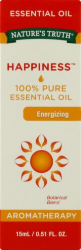 Nature's Truth  Energizing 100% Pure Essential Oil Happiness™ Perspective: front