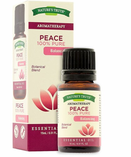 Nature's Truth  100% Pure Essential Oil Peace Perspective: front