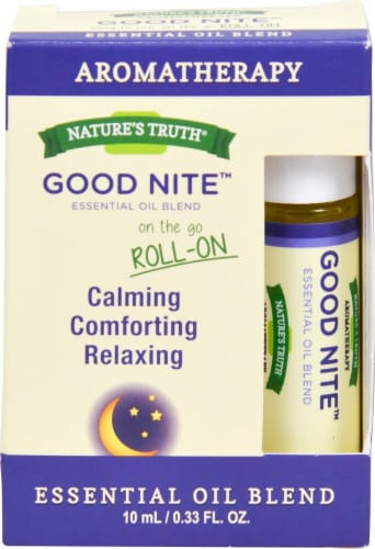 Nature's Truth Aromatherapy Good Nite Roll-On Essential Oil Blend Perspective: front