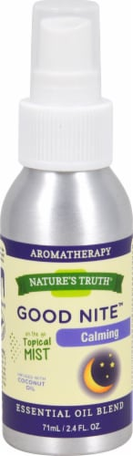 Nature's Truth  Essential Oil Blend Spray Good Nite™ Calming Perspective: front