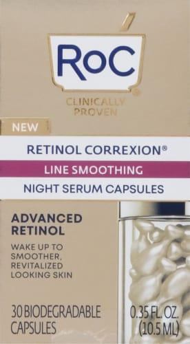 RoC Retinol Correxion Line Smoothing Night Serum Capsules Perspective: front