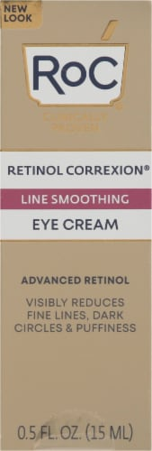 Roc Retinol Correxion Line Smoothing Eye Cream Perspective: front
