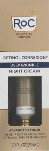 RoC Retinol Correxion Deep Wrinkle Night Cream Perspective: front