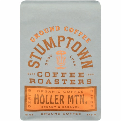 Stumptown Coffee Holler Mountain Blend Organic Ground Coffee Perspective: front