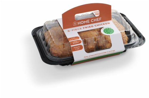 Home Chef Fried Chicken 8 Piece Hot Perspective: front
