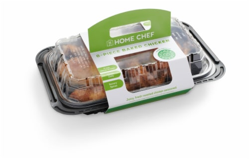 Home Chef Baked Chicken 8 Piece Cold Perspective: front