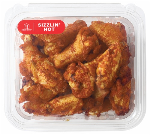 Home Chef Sizzlin Hot Wings Perspective: front