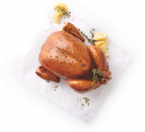 Home Chef Garlic & Herb Whole Chicken Cold Perspective: front