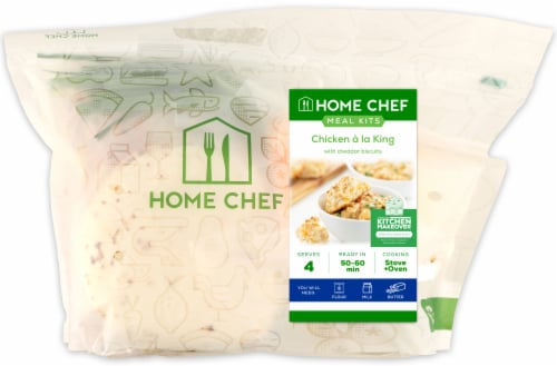 Home Chef Value Meal Kit Chicken A La King With Cheddar Biscuits Perspective: front