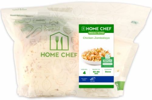 Home Chef Value Meal Kit Chicken Jambalaya Perspective: front