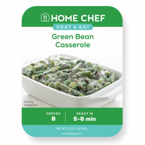 Home Chef Heat & Eat Green Bean Casserole Perspective: front
