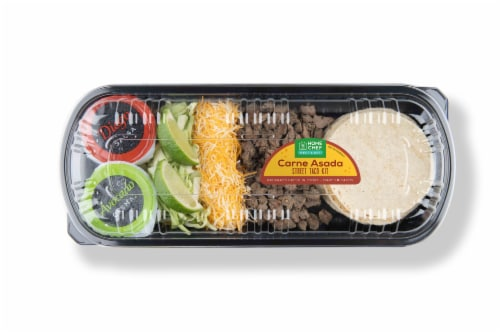 Home Chef Heat & Eat Carne Asada Street Taco Kit Perspective: front