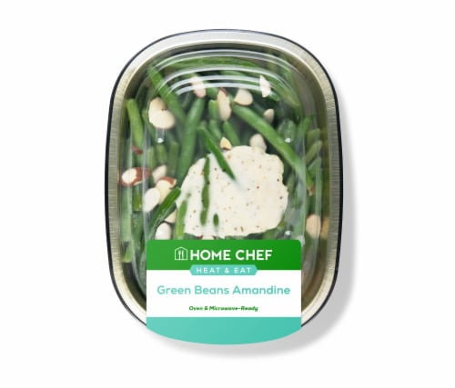 Home Chef Heat & Eat Green Beans Amandine Perspective: front