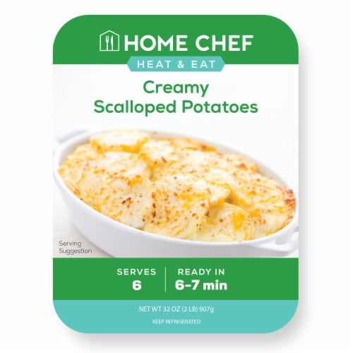 Home Chef Scalloped Potatoes Perspective: front
