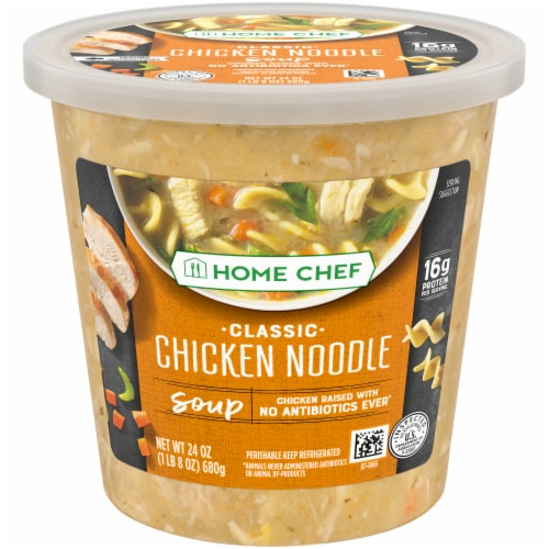 Home Chef Classic Chicken Noodle Soup Perspective: front