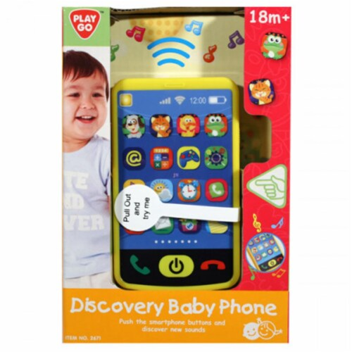 playgo 2671 Discovery Baby Phone Perspective: front
