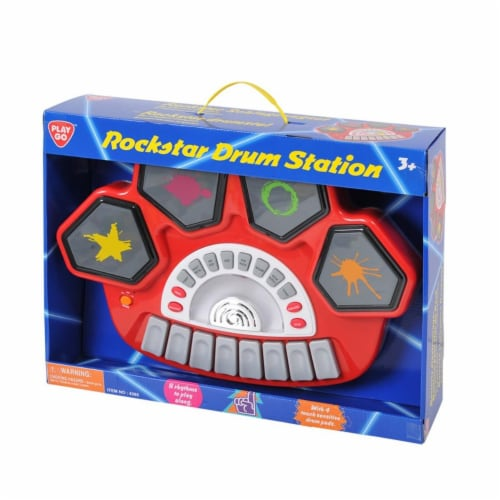 playgo 4385 Rockstar Drum Station Perspective: front