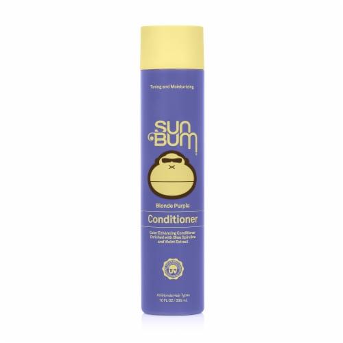 Sun Bum Blonde Purple Conditioner Perspective: front