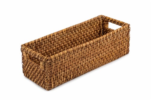 Core Home Rattan Tank Tray Perspective: front