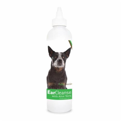Healthy Breeds 840235100980 8 oz Australian Cattle Dog Ear Cleanse with Aloe Vera Cucumber Me Perspective: front