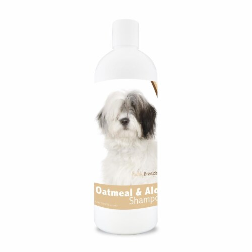 Healthy Breeds 840235114093 16 oz 14.5 lbs Old English Sheepdog Oatmeal Shampoo with Aloe Perspective: front
