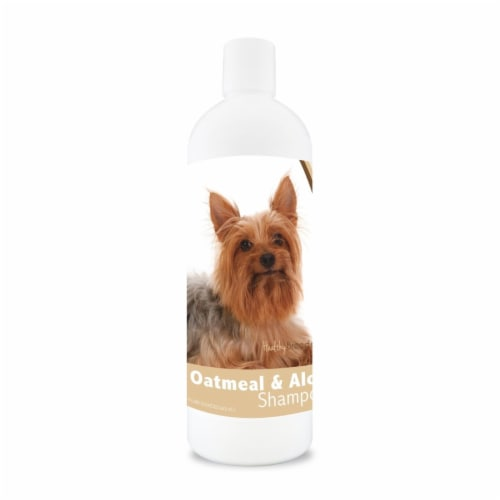 Healthy Breeds 840235114598 16 oz Silky Terrier Oatmeal Shampoo with Aloe Perspective: front