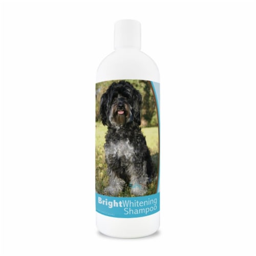 Healthy Breeds 840235128052 12 oz Maltipoo Bright Whitening Shampoo Perspective: front