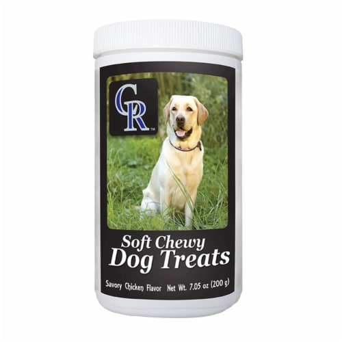 GameWear 840235138815 7 oz MLB Colorado Rockies Soft Chewy Dog Treats Perspective: front