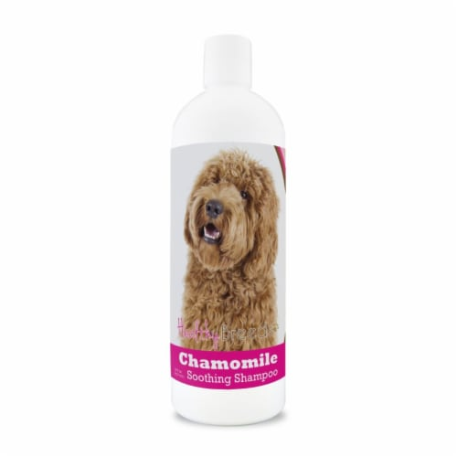 Healthy Breeds 840235162094 8 oz Labradoodle Chamomile Soothing Dog Shampoo Perspective: front