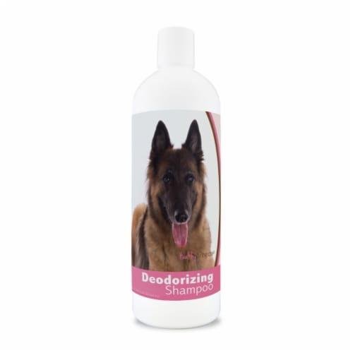 Healthy Breeds 840235169840 16 oz Belgian Tervuren Deodorizing Shampoo Perspective: front