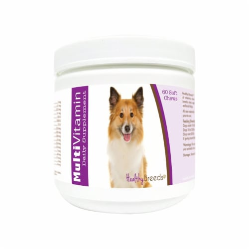 Healthy Breeds 840235172260 Icelandic Sheepdog Multi-Vitamin Soft Chews - 60 Count Perspective: front