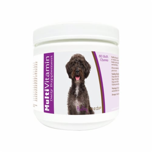 Healthy Breeds 840235173687 Schnoodle Multi-Vitamin Soft Chews - 60 Count Perspective: front