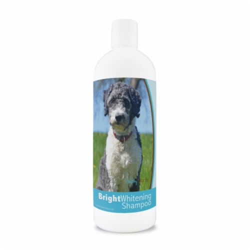 Healthy Breeds 840235177760 12 oz Aussiedoodle Bright Whitening Shampoo Perspective: front