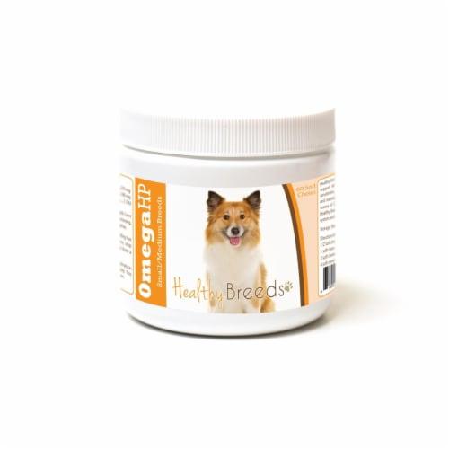 Healthy Breeds 840235186700 Icelandic Sheepdog Omega HP Fatty Acid Skin & Coat Support Soft C Perspective: front