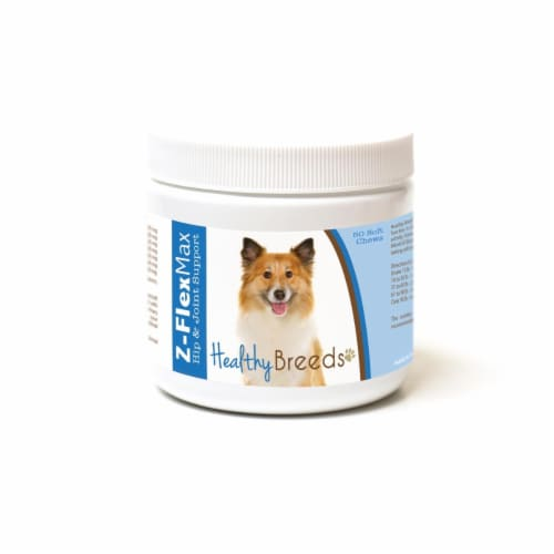 Healthy Breeds 840235188971 Icelandic Sheepdog Z-Flex Max Hip & Joint Soft Chews Perspective: front
