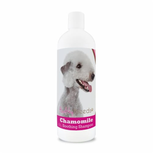 Healthy Breeds 840235199120 8 oz Bedlington Terrier Chamomile Soothing Dog Shampoo Perspective: front